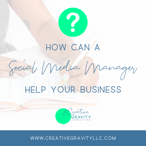 Can a SMM help your business - featured image - woman writing - www.creativegravityllc.com