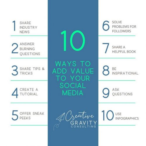 10 Ways to Add Value to your Social Media